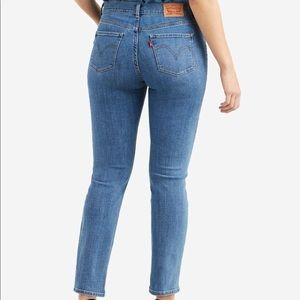 Levi's Blue Classic Straight Leg Jeans Size 12